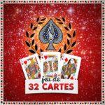 Jeu de 32 cartes - tarots et oracles gratuit