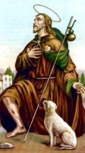 Saint Roch de Monptellier - prière du coronavirus