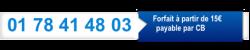 Bandeau blance et bleur Numéro de téléphone pour joindre les voyants pour des consultation à 15 euros