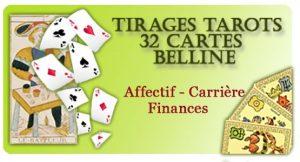 tirage gratuit du Belline pour découvrir votre domaine affectif, carrière, finances