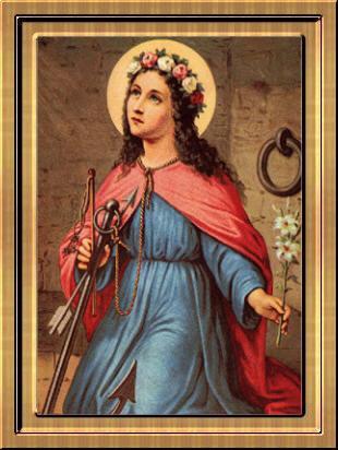 Prière à Sainte philomène
